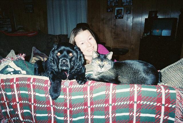 Bucky, Kirby & Mama.