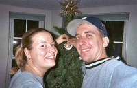 Highlight for Album: Brian & Kelly's First Christmas